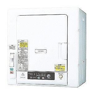 楽天 衣類乾燥機(乾燥6.0kg) (標準設置無料) DE‐N60WV‐W (ピュアホワイト) 日立-洗濯機