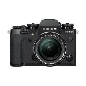 【限定品】 ミラーレス一眼カメラ FUJIFILM X-T3【レンズキット】(ブラック) 富士フイルム-カメラ