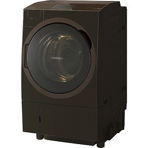 代引き人気 TW127X8L(T) グレインブラウン(標準設置無料) ドラム式洗濯乾燥機 洗濯12kg/乾燥7kg 東芝 TOSHIBA-洗濯機