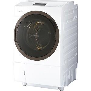 【テレビで話題】 東芝 TOSHIBA ドラム式洗濯乾燥機 洗濯12kg/乾燥7kg TW-127X8BKL(W) グランホワイト(標準設置無料)-洗濯機