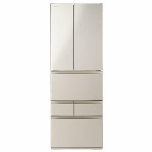 超歓迎された 東芝 TOSHIBA 6ドア冷蔵庫 GR-R510FK(EC) サテンゴールド(標準設置無料)-キッチン家電