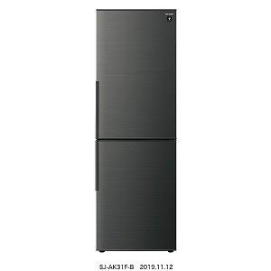 【激安】 シャープ SHARP 2ドア冷蔵庫(310L・右開きタイプ)SJ-AK31F-B ブラック系(標準設置無料), トメグン:7a8dacee --- oeko-landbau-beratung.de