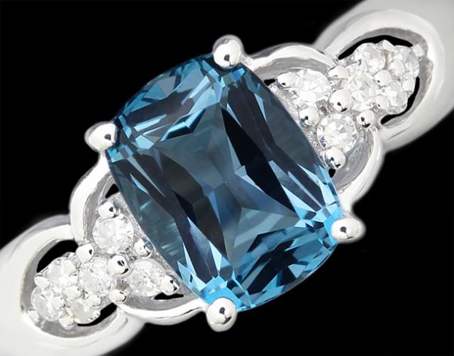 【在庫処分大特価!!】 ブルートパーズ ダイヤ K14WG リング 指輪 指輪 ダイヤ K14WG 15号, 丸共青果すだち:28fb1e80 --- nak-bezirk-wiesbaden.de