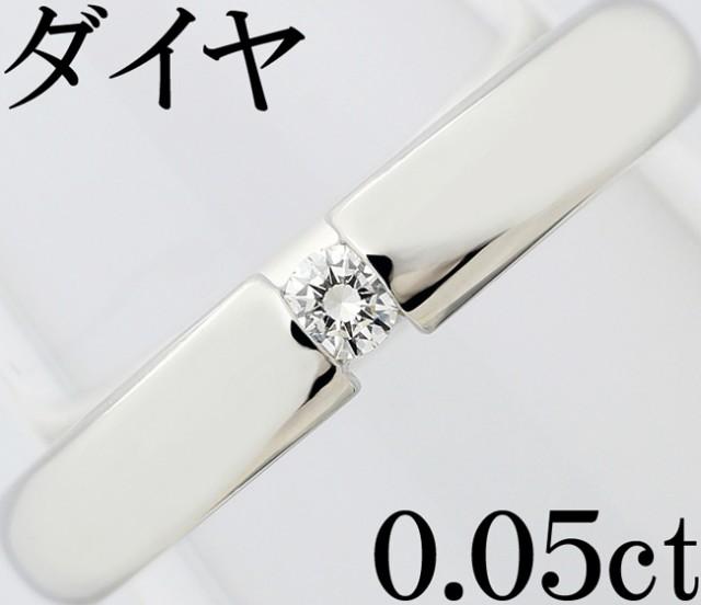 【完売】  You Pt950 0.05ct 9号 オンリーユー 一粒 ダイヤ 指輪 Only リング-指輪・リング