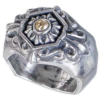 【ラッピング不可】 DICKY & GRANDMASTER リング 指輪 メンズ レディース シルバー アラベスクアネクドート G ディッキー&グランドマスター DGRA02, 驚きの値段 f4d6448d