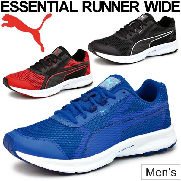 ランニングシューズ プーマ PUMA ジョギング マラソン トレーニング ウォーキング 幅広 ワイド スニーカー 靴  スポーツシューズ/190602 au Wowma!(ワウマ)