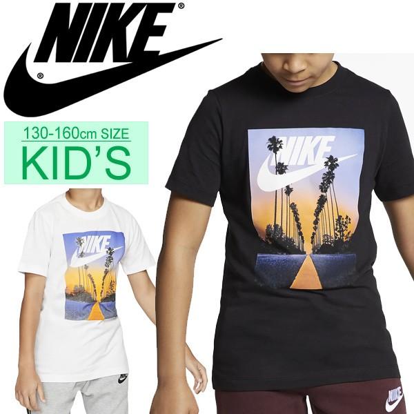 f218706340423b Tシャツ 半袖 キッズ 男の子 女の子 ジュニア 子供服 ナイキ NIKE YTH パルム ツリー フューチュラTee