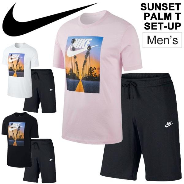 9c385652956c8c 半袖Tシャツ ハーフパンツ 上下セット 2点セット メンズ ナイキ NIKE スポーツウェア トレーニング