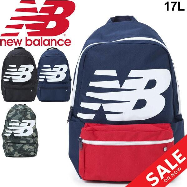 リュック デイパック ニューバランス Newbalance ロゴバックパック 17L スポーツバッグ メンズ レディース ビッグロゴ /JABL9403