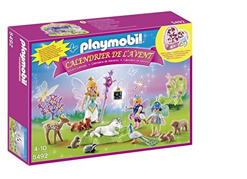 【SEAL限定商品】 Fees Foret】 【送料無料】【Playmobil LAvent Avec Licorne b00b3qt7ju - - - La Animaux 5492 Calendrier Et De De-おもちゃ
