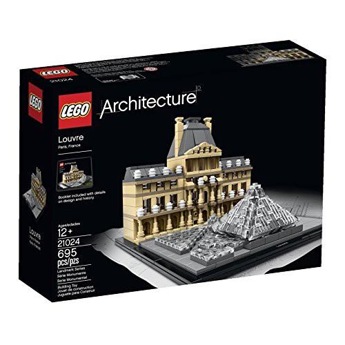 『2年保証』 Building Architecture 【送料無料】【LEGO 21024 Kit】 b00x6a8vde Louvre-おもちゃ