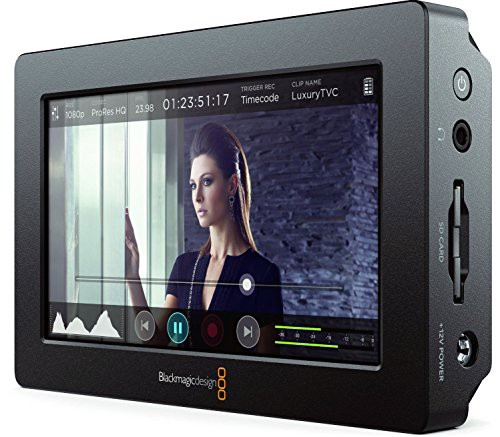 激安価格の 【送料無料】【Blackmagic 5インチフルHDタッ Video Assist モニター一体型ポータブルレコーダー Design-オーディオ
