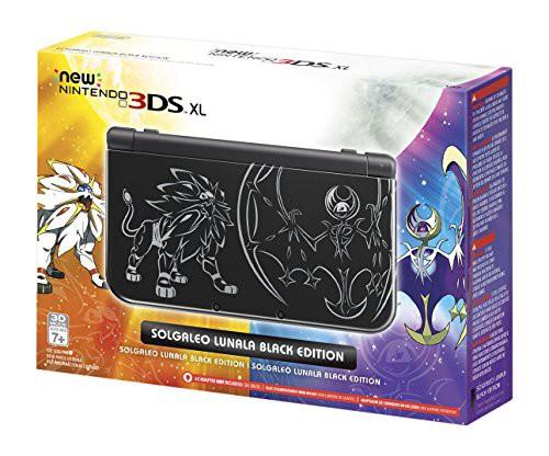 【通販激安】 【送料無料】【Nintendo New 3DS XL Solgaleo Lunala Black Edition - Imported】 b01lvz5sqv, 旭村 edd0ddc7