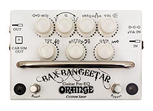 【開店記念セール!】 【ORANGE Bax Bangeetar WHITE プリアンプ】, モンヴェール農山 7cd2f7d8