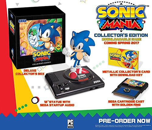 【正規取扱店】 【Sonic Mania: Collectors Edition】 b01lw93wit, wise 807bffc7