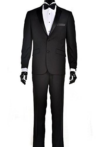 最安値で  【Fine Tuxedos APPAREL メンズ US サイズ: 48 Long Long【Fine カラー: APPAREL ブラック】 b00ft1bpbs, ネットからみどり:58e9073d --- kzdic.de