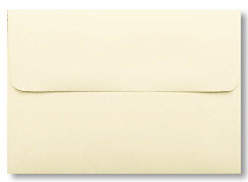 【封筒a7 ( 5.25 X 18.4 CMの5 x 7 )カード アイボリー100パックWedding Invitation】 b00btmns3y