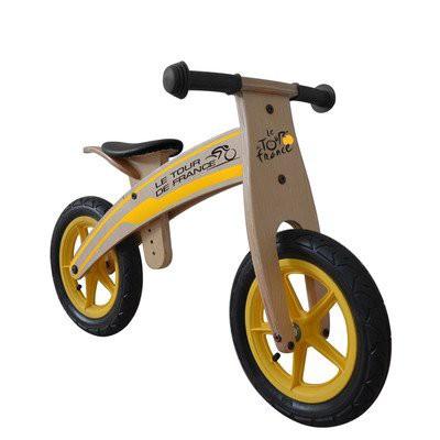 今年も話題の 【Tour de France Wood Running/Balance Bike, 12 inch Wheels, Kids Bike, Wood Grain Color by Tour De France】 b00i4z0zyy, イネックスショップ 341233c0