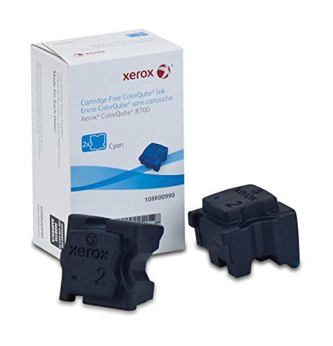 お得セット 【Genuine Xerox Cyan Solid Ink Sticks for the Xerox ColorQube 8700 (2 pcs/Box), 108R00990 by Xerox】 b007k9r9vc, GlassGallery Is c343f595