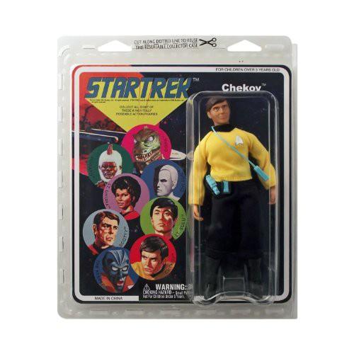【限定特価】 Trek Retro Cloth: 【Star Chekov Figure】 Action-フィギュア