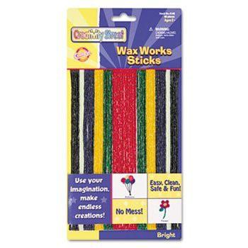 【Wax Works Strips, Bright Hues Colors, 48 Pieces (並行輸入品)】 41YU-Y3IPPL