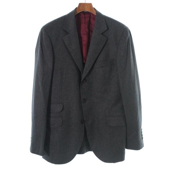 割引発見 BRUNELLO CUCINELLI / ブルネロ クチネリ メンズ ジャケット 色:グレー系 サイズ:50(XL位), オオシマムラ 11cd9c9a