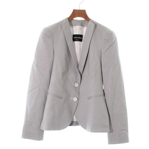 EMPORIO ARMANI  / エンポリオアルマーニ レディース ジャケット 色:グレー系 サイズ:40(M位)