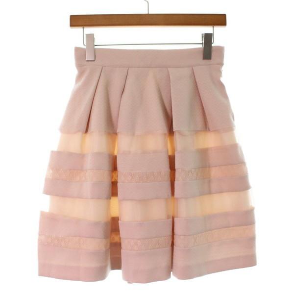 072478422b854 LAISSE PASSE   レッセパッセ レディース スカート 色:ピンクベージュ系 サイズ:38(M