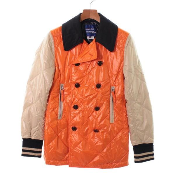 人気ブラドン 色:オレンジ コート MAN メンズ / JUNYA ジュンヤワタナベマン サイズ:XS WATANABE-ジャケット・アウター