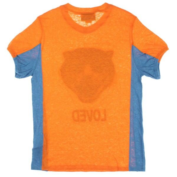outlet store cab3d 2dbd7 GUCCI / グッチ キッズ Tシャツ・カットソー 色:オレンジx水色 サイズ:12|au Wowma!(ワウマ)
