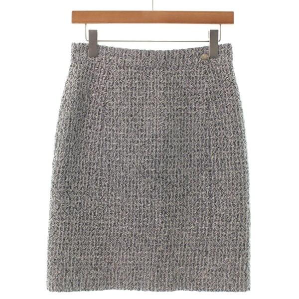 【日本未発売】 シャネル レディース / サイズ:36(XS位) 色:白x黒 CHANEL スカート-スカート