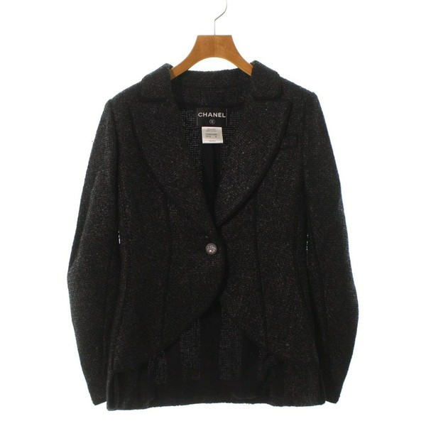 最新デザインの 色:黒 ジャケット / シャネル レディース CHANEL サイズ:38(S位)-アウター