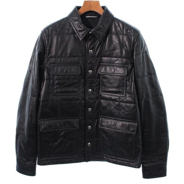 【保証書付】 Dior Homme ブルゾン/ ディオールオム メンズ Dior ブルゾン 色:黒 Homme サイズ:50(XL位), アツミグン:447b7147 --- rek-a14.de