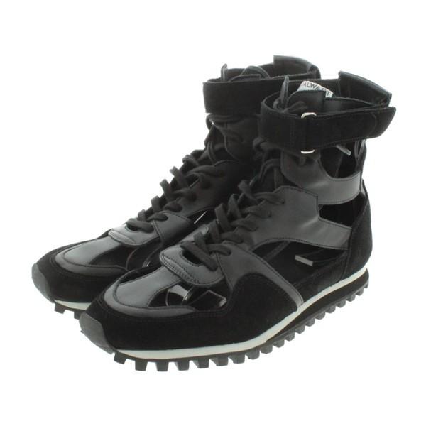 大きい割引 COMME メンズ / GARCONS HOMME サイズ:43(27.5cm位) des コムデギャルソン オム プリュス シューズ PLUS 色:黒x白-靴・シューズ
