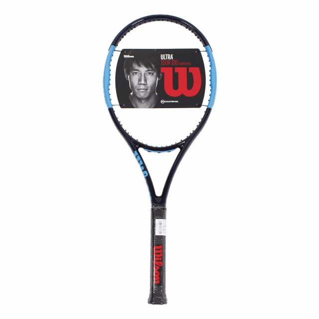 【海外限定】 ウイルソン(WILLSON)硬式用テニスラケット ULTRA TOUR 100CV WR006011S (Men's、Lady's), ホワイトカルレ 25d176f5