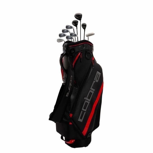 2018新入荷 コブラ(Cobra)ゴルフクラブセット FMAX SUPERLITE 10本セット キャディバッグ付 アイアンスチールシャフト フレックスS (Men's), ライズアップ d1247844
