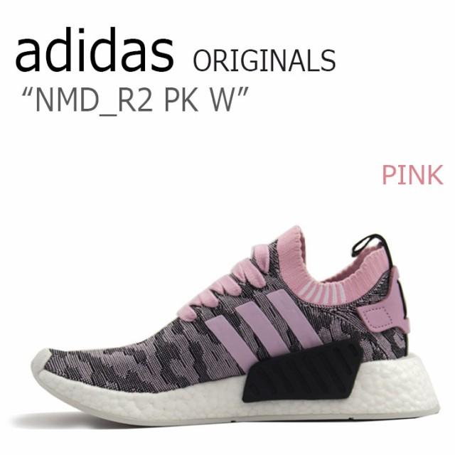 熱販売 アディダス スニーカー adidas originals レディース NMD_R2 PK Wmns エヌエムディーR2 PINK ピンク ブラック BY9521 シューズ, スリコム f7726acc