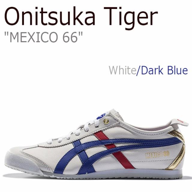数量は多い  オニツカタイガー スニーカー Onitsuka Tiger D507L-0152 メンズ レディース MEXICO 66 メキシコ66 メキシコ66 ホワイト ホワイト ブルー D507L-0152 シューズ, 博多んもんのおすすめ 食べてみ店:eb80288c --- chevron9.de
