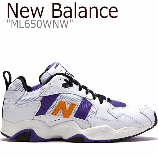 【保障できる】 ニューバランス 650 スニーカー NEW BALANCE new balance 650 ニューバランス650 ホワイト パープル ML650WNW FLNB9S2U61 シューズ, 瀬棚郡 c3513d94