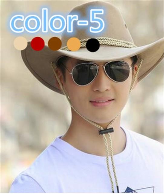 メンズ帽子 UVカット 紫外線対策 無地 カウボーイ帽子 マッチングしやすい 日よけ 海/旅行 アウトドア 着心地いい セール メンズ帽子