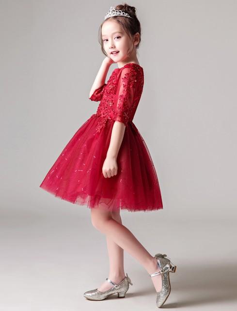 e255a978df7af 女の子 誕生日 ドレス ピアノ発表会 礼服 キッズ コスチューム ピアノ 発表会 ドレス 子供 結婚