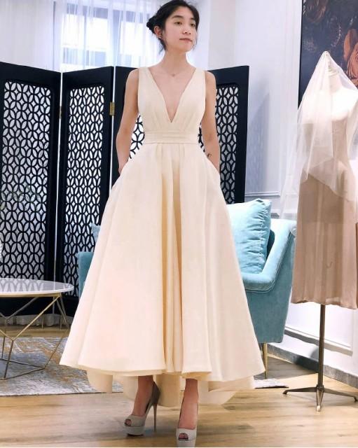 314847b7a69b3 ウエディングドレス 花嫁パーティードレス カラードレス ウェディングドレス 白 二次会 花嫁 ウェディングドレス 激安 販売