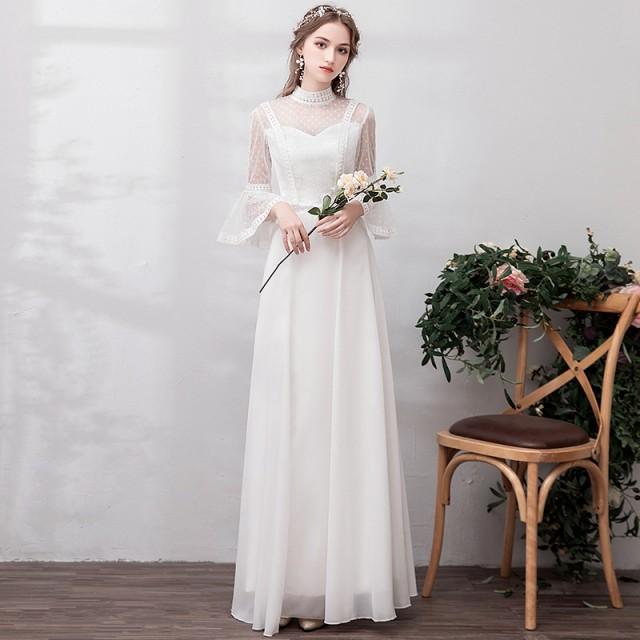 b6caa61c406aa 激安 チュール 大人気 ウェディングドレス 白 二次会 花嫁 カラードレス 大きいサイズ ウェディング 白 ドレス ロング