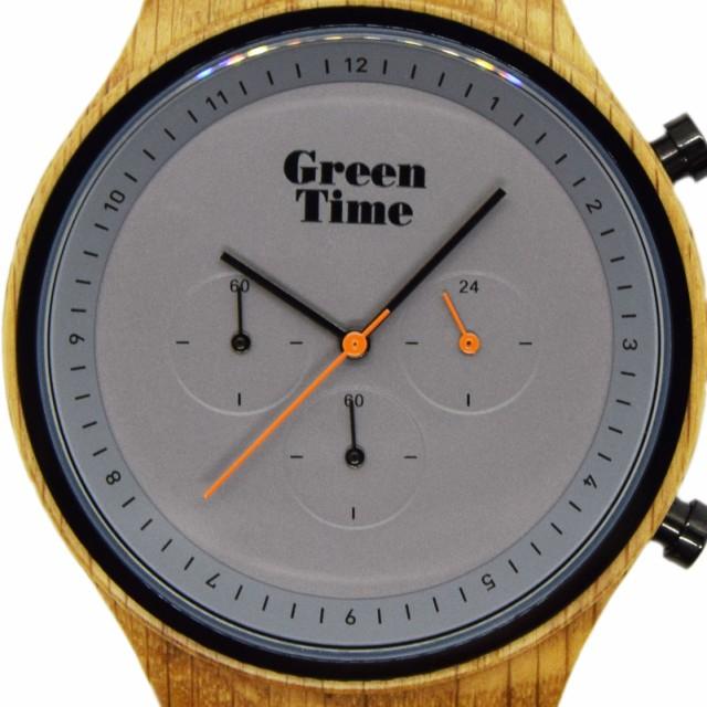 75c8140be1 【送料無料】GreenTime グリーンタイム 腕時計 クォーツ ギフト 木製 ハンドメイド クロノグラフ イタリア メンズ