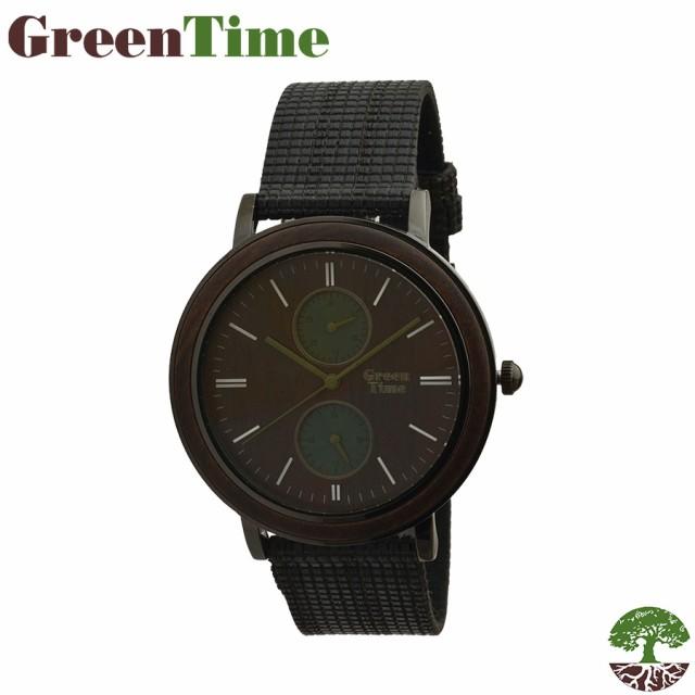 b3d44fabe9 【送料無料】GreenTime グリーンタイム 腕時計 木 クォーツ ギフト 木製 ハンドメイド イタリア ユニセックス