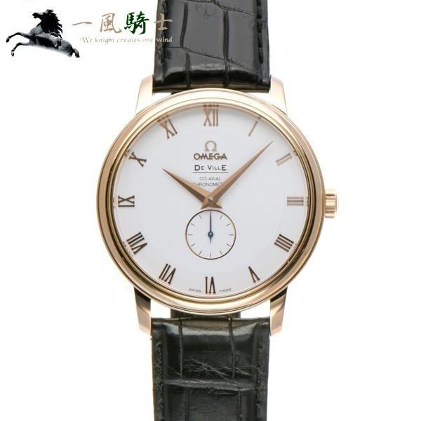 素晴らしい品質 OMEGA オメガ デ・ヴィル コーアクシャル スモールセコンド 4614.20.02  345961 プレステージ-腕時計メンズ