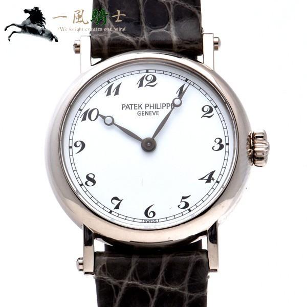新着 PHILIPPE】【パテックフィリップ】カラトラバ レディ 4860G-001 276522【】【PATEK-腕時計レディース