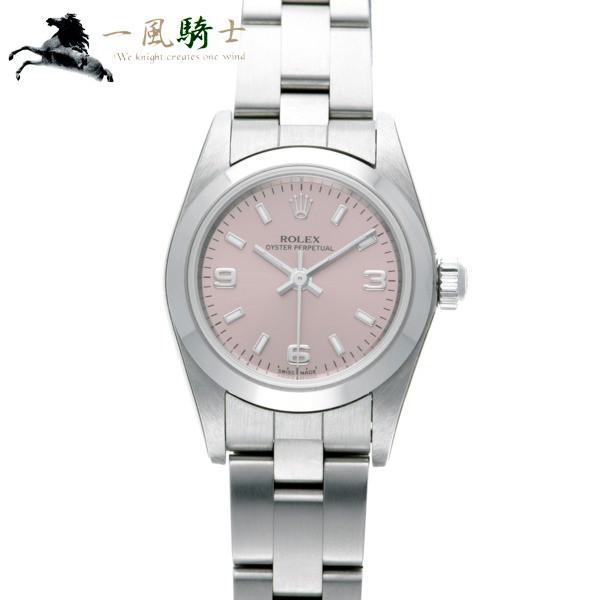 【国産】 ROLEX ロレックス オイスターパーペチュアル 76080 K番  357430-腕時計レディース