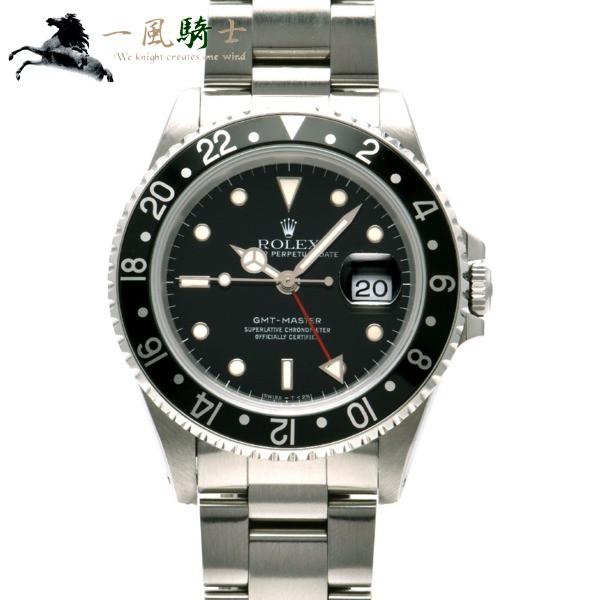 完璧 283304【】【ROLEX】【ロレックス】GMTマスター 16700 L番-腕時計メンズ