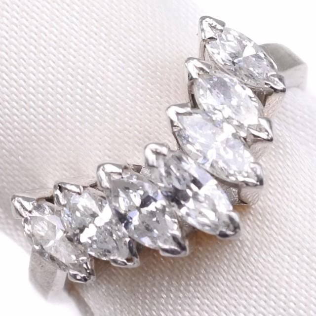 開店祝い ダイヤモンド Pt900プラチナ 13号 リング・指輪 レディース 【】 ランクA, まめぞう 99328ec2